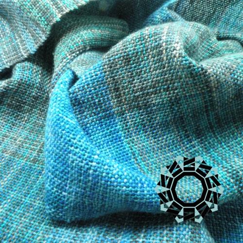 Three-doloured scarf with hood / Trójkolorowy szalik z kapturem by Tender December, Alina Tyro-Niezgoda
