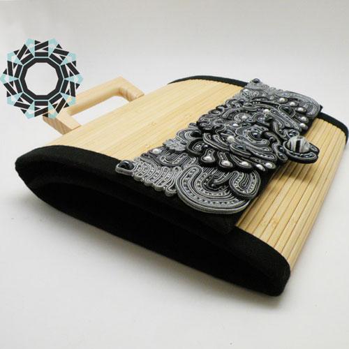 Bamboo handbag / Bambusowa torebka by Tender December, Alina Tyro-Niezgoda