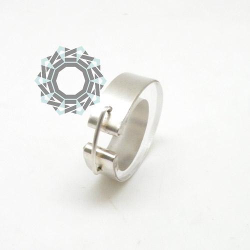 Clear ring / Przezroczysty pierścionek by Tender December, Alina Tyro-Niezgoda