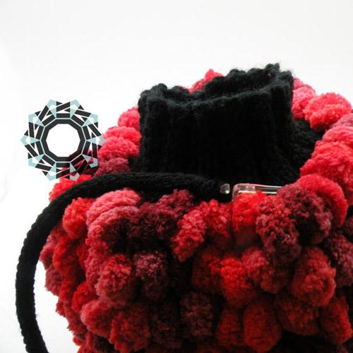 Fluffy handwarmer / Puchata mufka by Tender December, Alina Tyro-Niezgoda