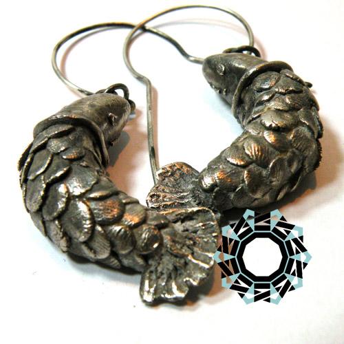 Silver earrings / Srebrne kolczyki by Tender December, Alina Tyro-Niezgoda