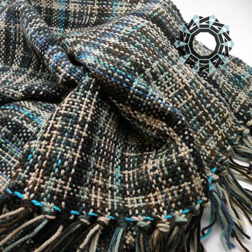 Grey scarf / Szary szalik by Tender December, Alina Tyro-Niezgoda