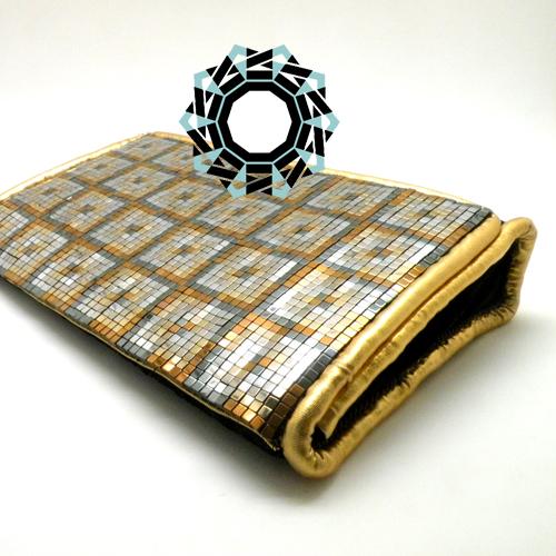 Evening hematite purse / Wieczorowa torebka z hematytów by Tender December, Alina Tyro-Niezgoda