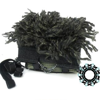 """Floki"" gray bag / Szara torebka ""Floki"" by Tender December, Alina Tyro-Niezgoda"