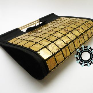 Evening metal purse / Wieczorowa torebka z metalu by Tender December, Alina Tyro-Niezgoda