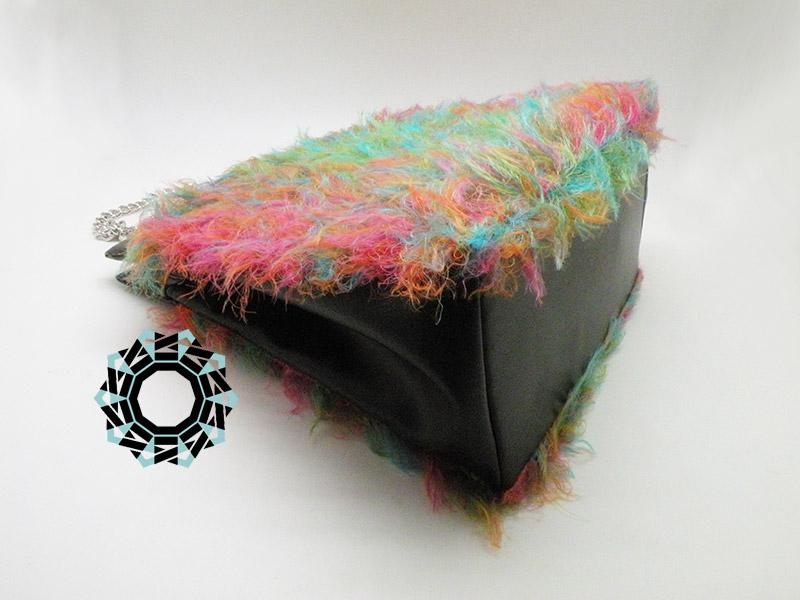 A fully colored bag / Pełnokolorowa torebka by Tender December, Alina Tyro-Niezgoda