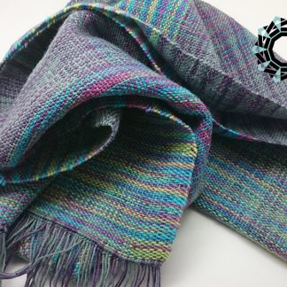 Three-coloured scarf / Szalik w trzech odcieniach by Tender December, Alina Tyro-Niezgoda