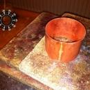 Copper bracelet in the shades of autumn / Miedziana bransoleta w kolorach jesieni by Tender December, Alina Tyro-Niezgoda,