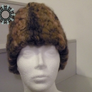 Oblong hat in beige tones / Wielka beżowa czapa by Tender December, Alina Tyro-Niezgoda,