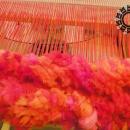 Fluffy red set / Czerwona puchata czapka i komin by Tender December, Alina Tyro-Niezgoda,