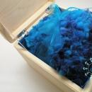 Fluffy blue cap / Puchata czapka niebieska by Tender December, Alina Tyro-Niezgoda,