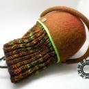 Felt basket / Filcowy koszyk by Tender December, Alina Tyro-Niezgoda,