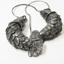 Metal Clay jewelry by Tender December, Alina Tyro-Niezgoda