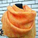 mohair scarf by Tender December, Alina Tyro-Niezgoda