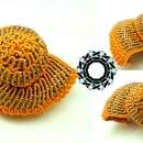 3D Soutache shell / Muszelka sutasz 3D by Tender December, Alina Tyro-Niezgoda,