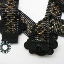 Woven beaded belt / Tkany pasek z koralików by Tender December, Alina Tyro-Niezgoda,