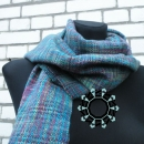multi-colour scarf by Tender December, Alina Tyro-Niezgoda