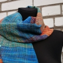 3-colour scarf by Tender December, Alina Tyro-Niezgoda