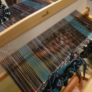 Melange scarf / Melanżowy szalik w turkusowe pasy by Tender December, Alina Tyro-Niezgoda,