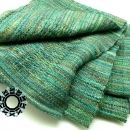 Green XL scarf by Tender December, Alina Tyro-Niezgoda