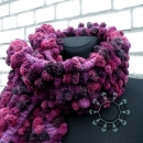 Bubble scarf by Tender December, Alina Tyro-Niezgoda
