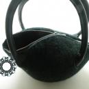 Elegant felt purse / Elegancka filcowa torebka by Tender December, Alina Tyro-Niezgoda,