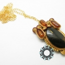 Soutache Pendant / Wisior soutache by Tender December, Alina Tyro-Niezgoda,