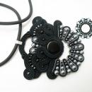 Soutache pendant / Sutaszowy wisior by Tender December, Alina Tyro-Niezgoda,