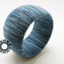 Fiber bracelets / Włóczkowe bransoletki by Tender December, Alina Tyro-Niezgoda,