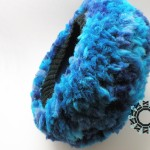 Fluffy blue hat / Niebieska puchata czapka by Tender December, Alina Tyro-Niezgoda