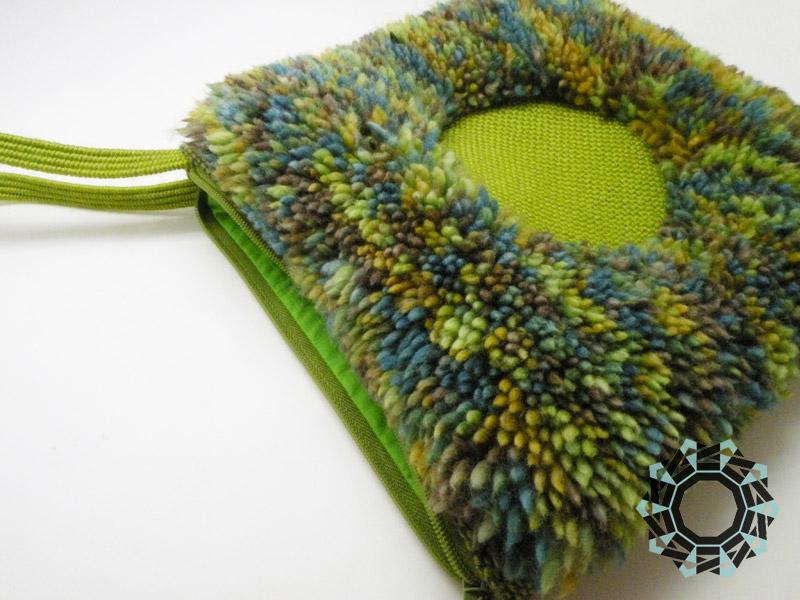 Green handbag / Zielona torebka by Tender December, Alina Tyro-Niezgoda