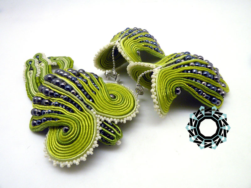 Soutache 3D / Sutasz 3D by Tender December, Alina Tyro-Niezgoda