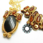 Soutache pendant / Wisior soutache by Tender December, Alina Tyro-Niezgoda