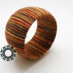 Fiber jewellery / Włóczkowa biżuteria by Tender December, Alina Tyro-Niezgoda