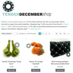 Tender December shop / sklep