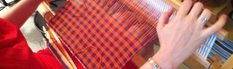 Loom weaving classes / Kursy tkackie by Tender December, Alina Tyro-Niezgoda