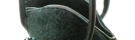 Elegant felt purse / Filcowa elegancja