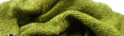 Green woven blouse / Zielona tkana bluza