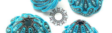 Soutache geometry / Sutaszowa geometria by Tender December, Alina Tyro-Niezgoda