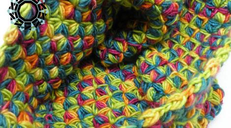 Multicolour neck warmer / Kolorowy komin
