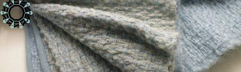 Asymmetrical colours shawl / Szal Niesymetryczne kolory by Tender December, Alina Tyro-Niezgoda