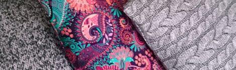 Colourful cushions / Kolorowe poduszki