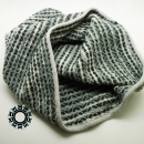 Weaved tube scarves in patterns / Kominy tkane we wzorki by Tender December, Alina Tyro-Niezgoda