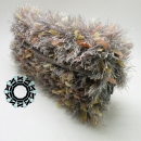 "Gray, evening ""fur"" bag / Szare ""futro"" na wieczór by Tender December, Alina Tyro-Niezgoda,"