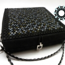 Square mosaic purse / Kwadratowa torebka z mozaiki by Tender December