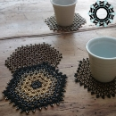 Table mats / Podkładki na stół by Tender December, Alina Tyro-Niezgoda