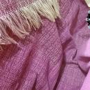 """""""Asymmetrical colours"""" shawl / Szal """"Niesymetryczne kolory"""" by Tender December, Alina Tyro-Niezgoda More / Więcej: http://tenderdecember.eu/painting-with-acryl-malowanie-akrylem/ To buy / Aby kupić: http://tenderdecember.eu/shop/produkt/acrylic-xxl-shawl-color-beige-pink-burgundy-akrylowy-szal-xxl-w-tonacji-bezu-rozu-bordo/"""