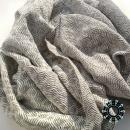 """""""Asymmetrical colours"""" shawl / Szal """"Niesymetryczne kolory"""" by Tender December, Alina Tyro-Niezgoda More / Więcej: http://tenderdecember.eu/painting-with-acryl-malowanie-akrylem/ To buy / Aby kupić: http://tenderdecember.eu/shop/produkt/acrylic-xxl-shawl-color-cream-gray-khaki-akrylowy-szal-xxl-w-tonacji-kremu-szarosci-khaki/"""