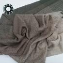 Beige-green, cotton, big handwoven shawl / Beżowo-oliwkowy, bawełniany, wielki szal, ręcznie tkany by Tender December, Alina Tyro-Niezgoda More / Więcej: http://tenderdecember.eu/woven-tkane/painted-with-cotton-malowane-bawelna/ To buy / Aby kupić: http://tenderdecember.eu/shop/produkt/cotton-xxl-shawl-color-beige-light-brown-green-bawelniany-szal-xxl-w-tonacji-zieleni-brazow-bezy/