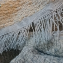 """Asymmetrical colours"" shawl / Szal ""Niesymetryczne kolory"" by Tender December"